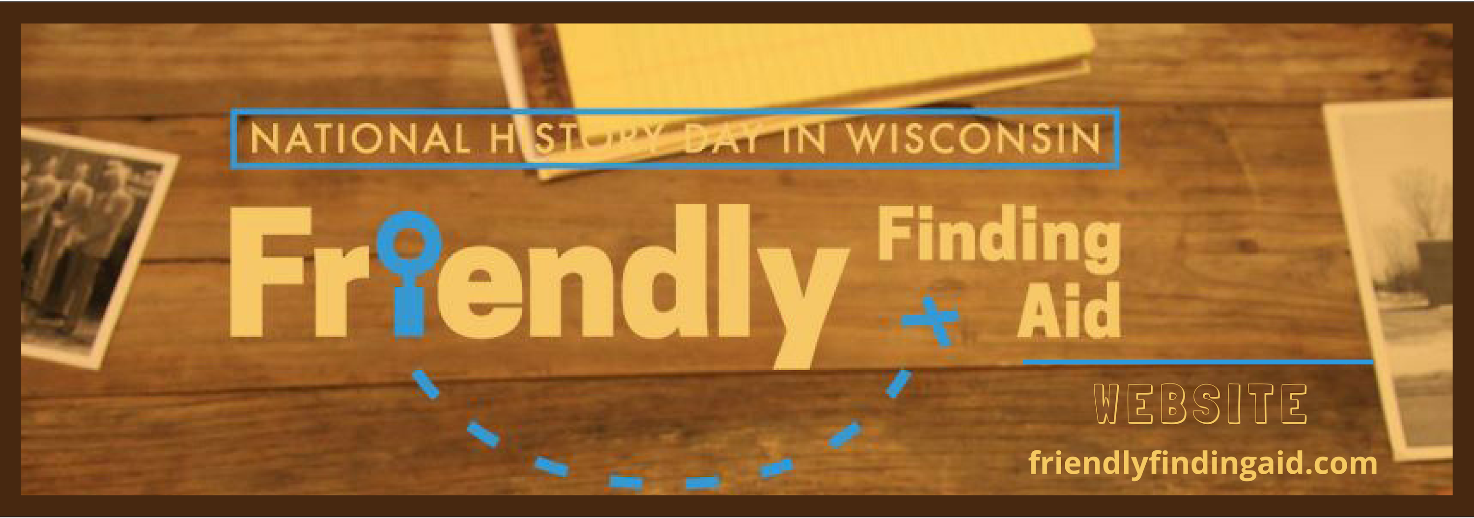 Friendly Finding Aid logo and website url